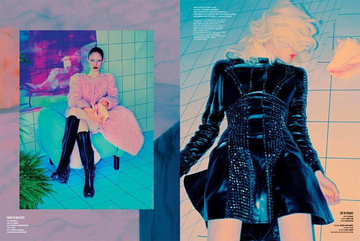 Instaglam story shot by Kacper Kasprzyk, set design Kate McCollough for V Magazine