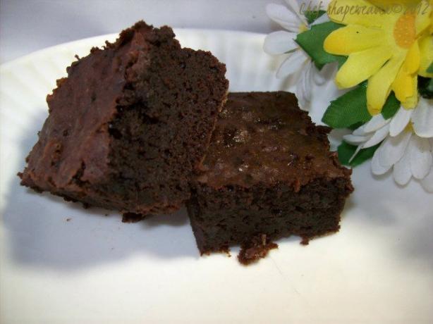 Deep, Dark Brownies Recipe — Dishmaps