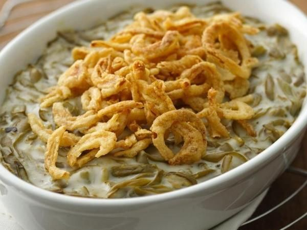 Easy Green Bean Casserole - easy and delicious