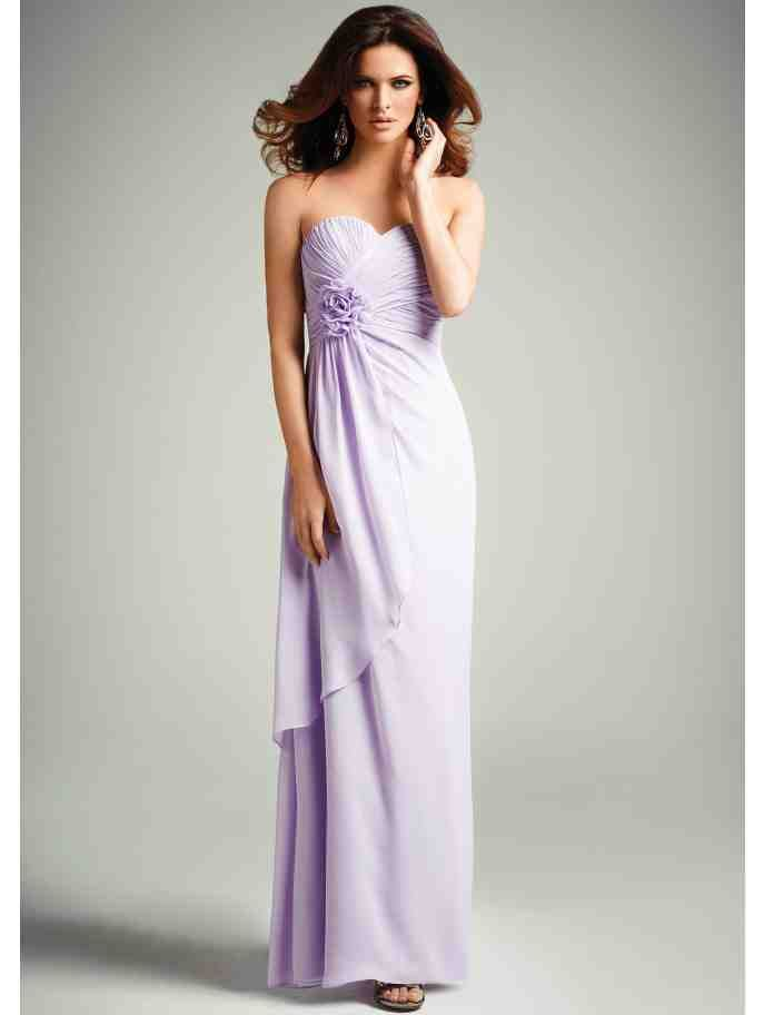 Detail dress jane norman lilac lavender wedding ideas