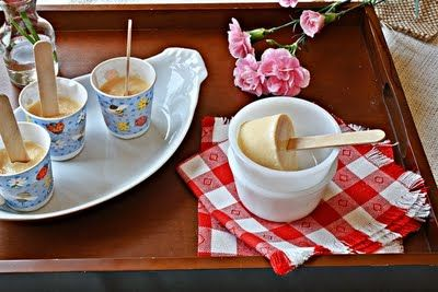 Malai Kulfi / Indian Creamy popsicle | frozen delights | Pinterest