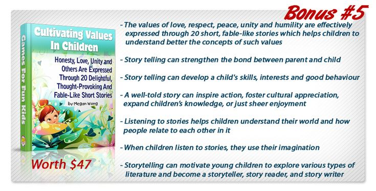 Cultivating values in children