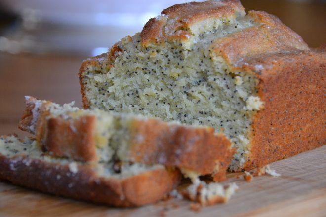 Lemon Poppy Seed Bread with Lemon Glaze | Fresh Baked Breads | Pinter ...