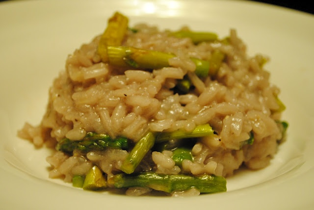 Parmesan Risotto with Roasted Aparagus | Food | Pinterest