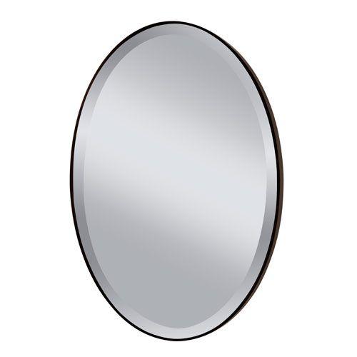 Johnson Oil Rubbed Bronze Mirror Feiss Oval Mirrors Home Decor