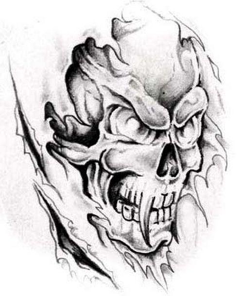 Tattoo http tattooeve com popular skull tattoos tattoo design