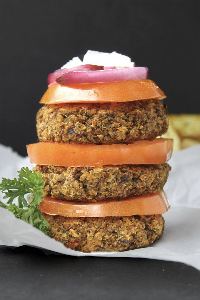 Greek Quinoa Burgers   Recipe