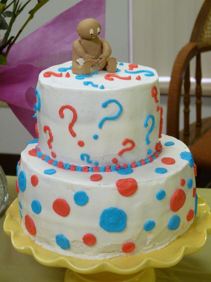 unknown sex baby shower cake