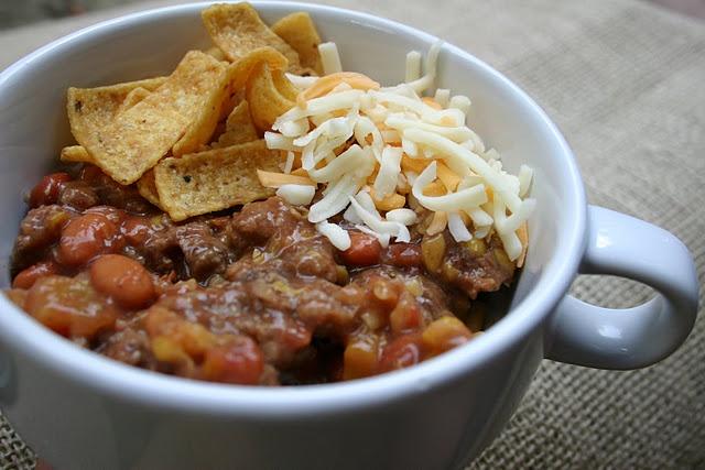 crock pot recipes : tex-mex chili | Recipes | Pinterest