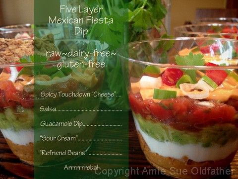 Five-Layer-Mexican-Fiesta-Dip1 - Must try! One of my favourite dips ...