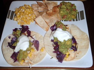 Cilantro Lime Tilapia Tacos, Guac & Spicy Corn - Hungry Meets Healthy ...