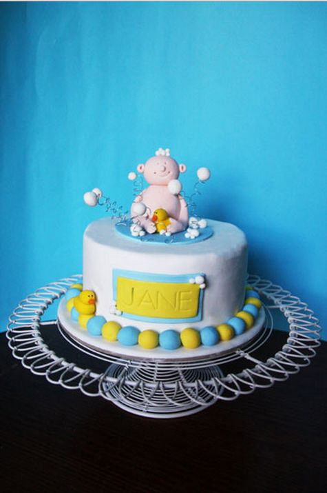 how-to-make-an-easy-baby-shower-cake