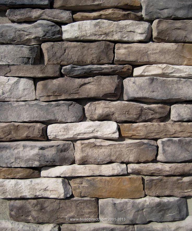 Builddirect Black Bear Manufactured Stone Veneer Ledge