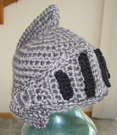 Crochet Knight Helmet Free Pattern Images Knitting Patterns Free