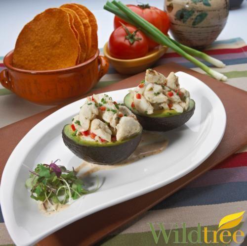 Wildtree's Jumbo Lump Crab Stuffed AvocadoRecipe www.mywildtree.com ...