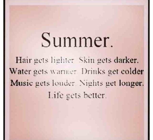Wonderful Summer Love Quotes