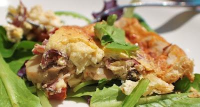 ... Vlog: Artichoke Mushroom Pepperoni Parmesano Tortino. Oh my, YES