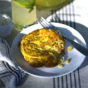 Chorizo Potato and Onion Spanish Tortilla - Finger Food Recipes