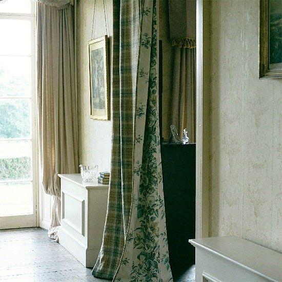 Curtain Room Divider Indoor Spaces Pinterest