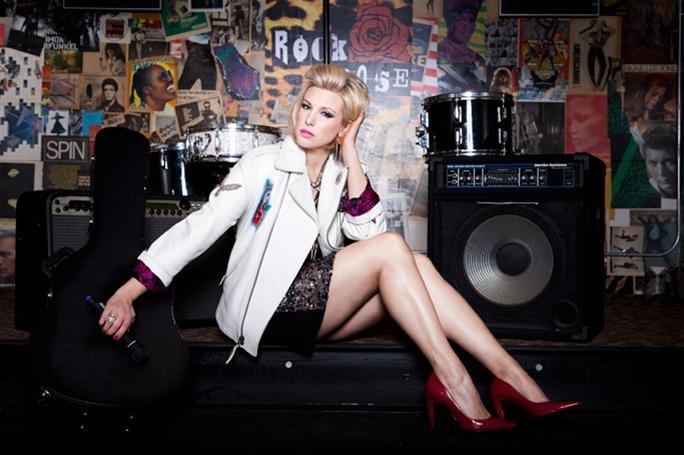 """Model Lauren Koenig appears in a new editorial shoot called """"Rock ..."""