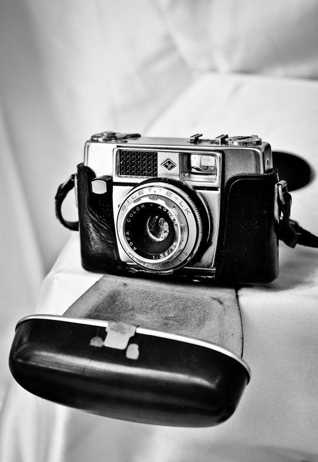 Vintage camera by Pierre Meunier