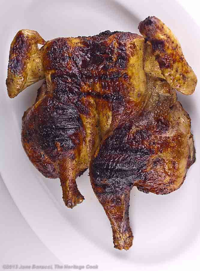 Grilled whole butterflied chicken | Food | Pinterest