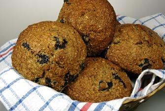 Blueberry Bran Muffins Recipe | MUFFINS & BREADS & SCONES | Pinterest