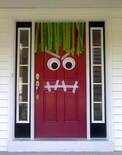 10ideas about Halloween Monster Doors on Pinterest Monster