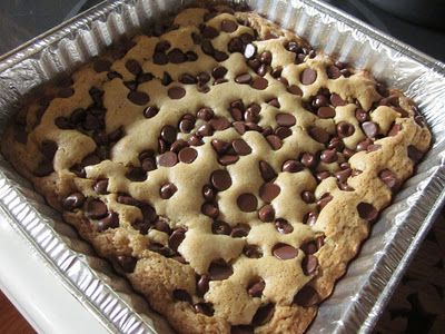 gooey chocolate chip sandwich bars oui chef up form of chocolate chip ...