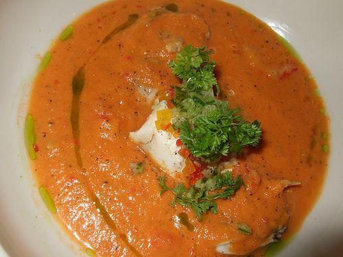 Seafood Gazpacho | yummmm | Pinterest