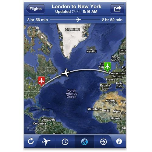 iphone flight tracking apps reviews