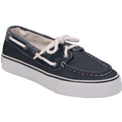 Womens Canvas Deck Shoes Shoes; Denim; 9