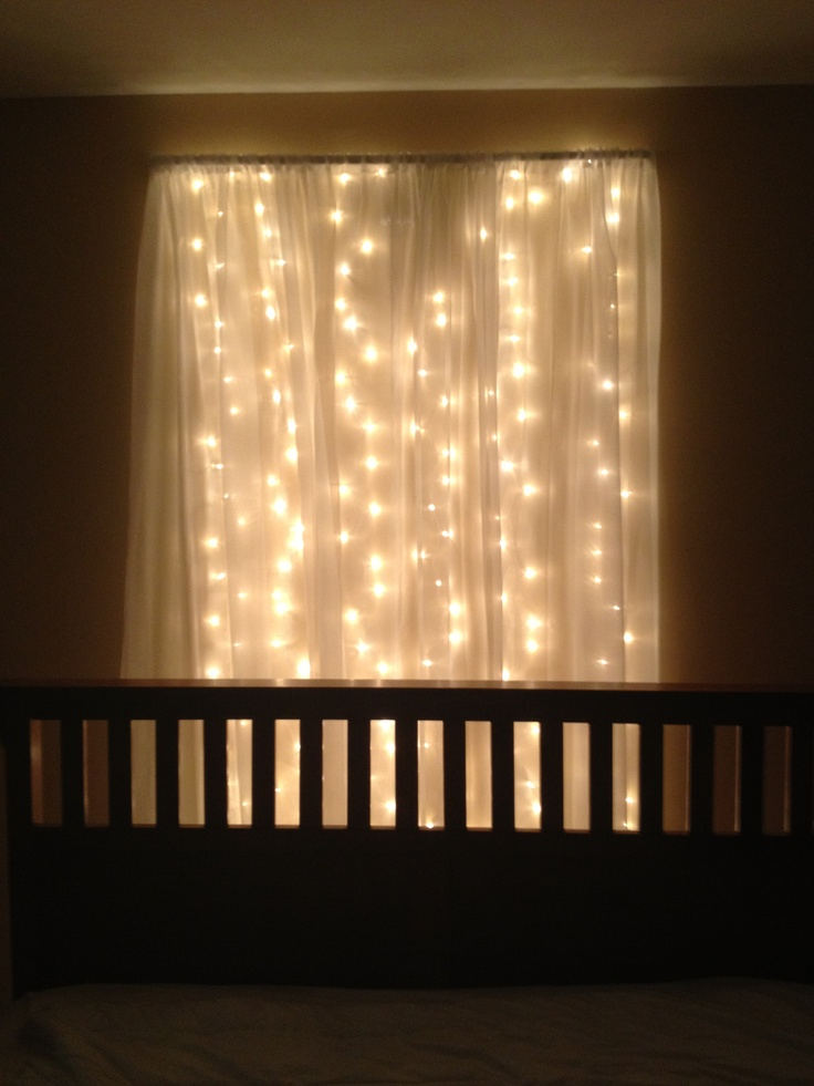 Wall Lights Behind Bed : Lights behind bed . bedrooms Pinterest