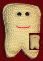 Angels Crochet - Tooth Fairy Tooth Pocket Pattern