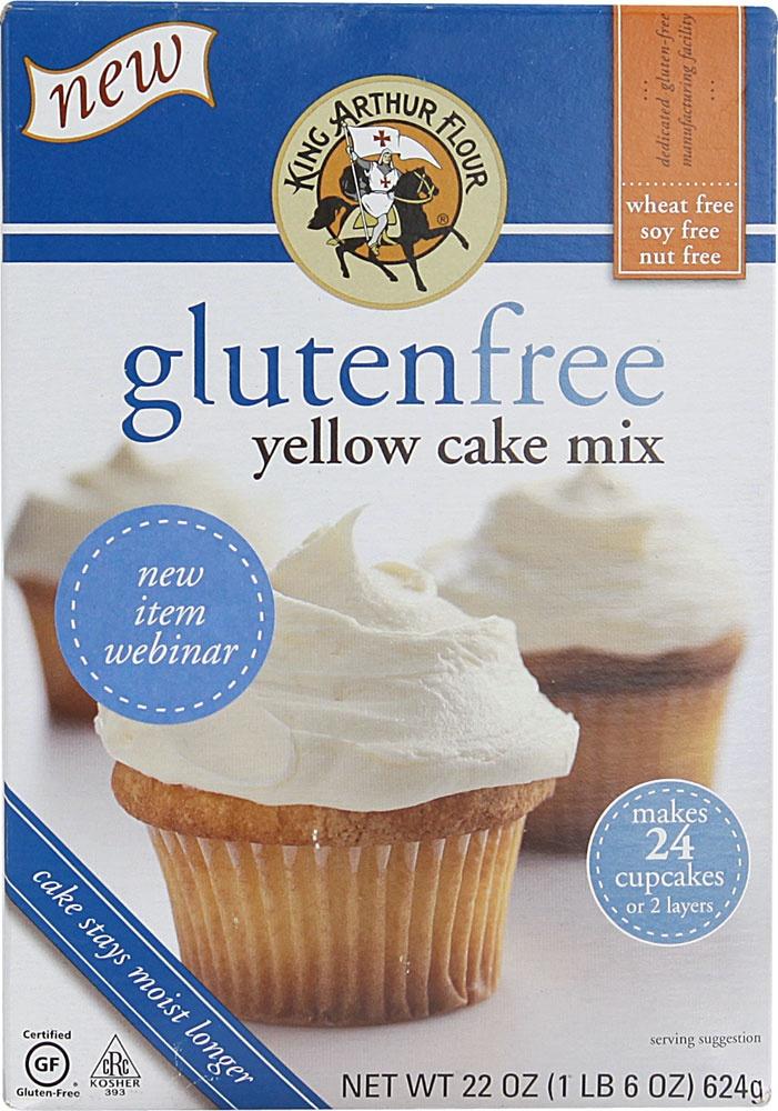 King Arthur Flour Gluten Free Yellow Cake