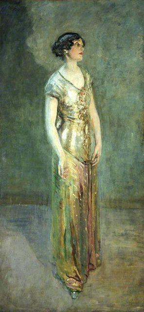 Ambrose McEvoy  Mrs. Cecil Baring, 1876-1922, c.1927