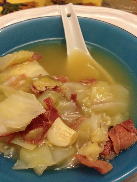 Corned Beef and Cabbage Soup | ~Recipes~ SOUPS | Pinterest