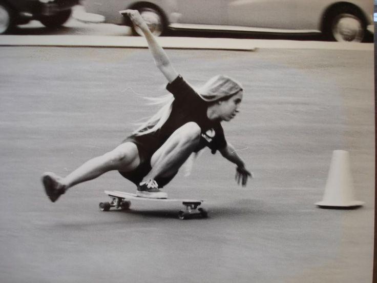Meninas Skatistas - Fotos originais dos anos 70