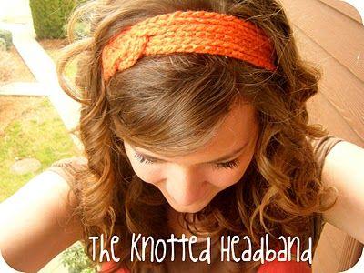 Another really cute, easy crochet headband tutorial.