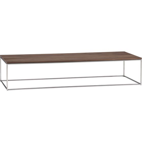 Frame Large Coffee Table In Side Coffee Tables Crate And Barrel