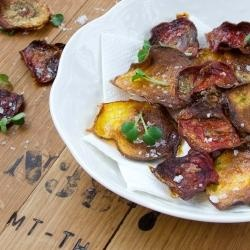 Smoky Beet Chips - why not other root crop veggies too? Sweet potato ...