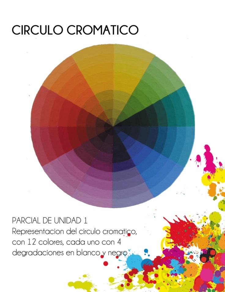 Circulo cromatico con 12 colores y sus degradaciones en - Circulo cromatico 12 colores ...