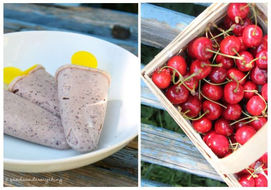 coconut cherry ice cream :) | my delicious vegan stuff | Pinterest