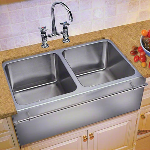 Large Apron Sink : ... Steel large capacity apron sink from