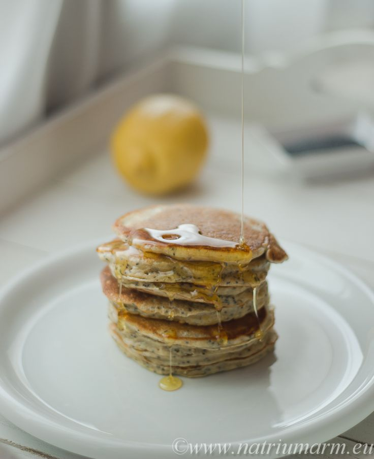 Lemon poppy seed pancakes | Im from the South, food is our thing! | P ...