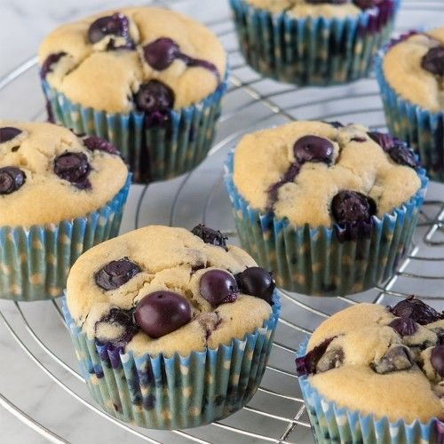 Very Blueberry Muffins | Gluten Free | Pinterest