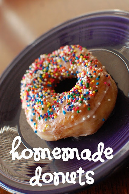 easy homemade donut recipe | Favorite Recipes | Pinterest