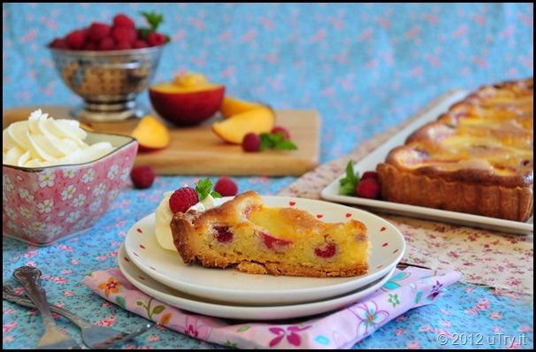 Peach And Raspberry Frangipane Tart | Pies, Tarts & Cobblers | Pinter ...