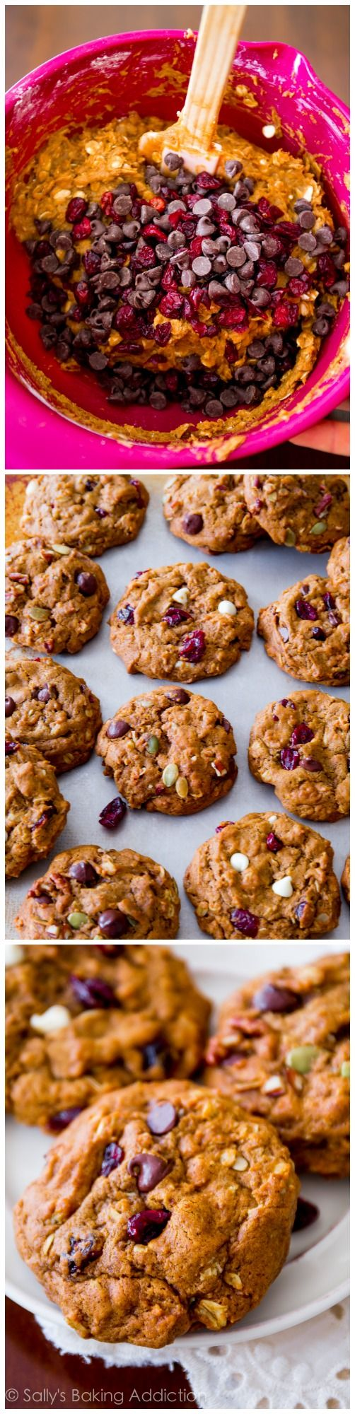 The BEST Pumpkin Oatmeal Cookies. Soft, without being cakey. These are ...