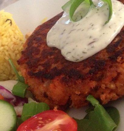 Salmon Burger | getting healthy | Pinterest